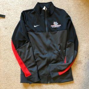 Gonzaga Basketball Nike zip up jacket
